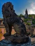 Statue d'un lion